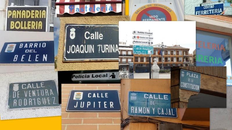 Errores ortográficos en Ciempozuelos.