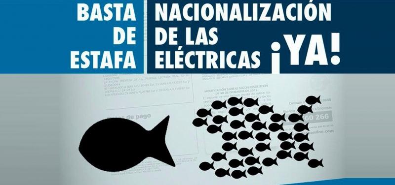 Resultado de imagen de Nacionalización de las compañías eléctricas